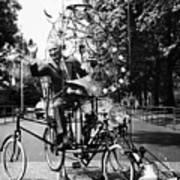 Emett: Lunacycle, 1970 Art Print by Granger