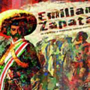 Emiliano Zapata Inmortal Art Print
