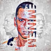 Eminem Portrait Art Print
