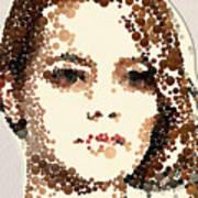 Emma Stone Art Print