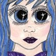 Emo Girl I Art Print