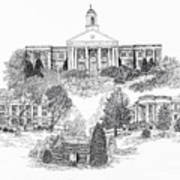 Emory And Henry College Art Print