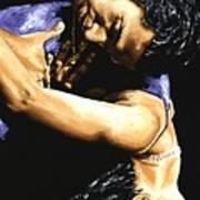 Emotional Tango Art Print