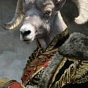 Emperor Jstor Jax Art Print
