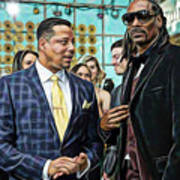 Empire Lucious And Snoop Dog Art Print