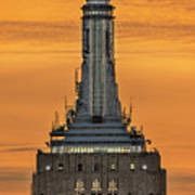 Empire State Building Esb Broadcasting Nyc Art Print