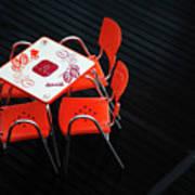 Empty Coffee Table Art Print