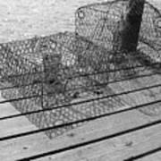Empty Crab Traps Art Print