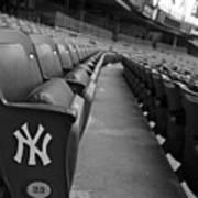Empty Stadium Art Print