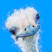 Emu Painting Art Print