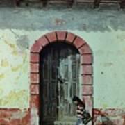 En Calle Ejercito Nacional Art Print