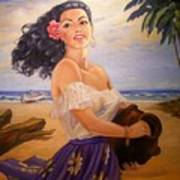 En La Playa Art Print