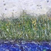 Encaustic Water Scene Art Print