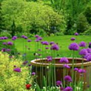 Enchanted Garden Art Print