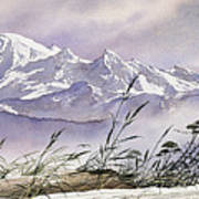 Enchanted Mountain Art Print