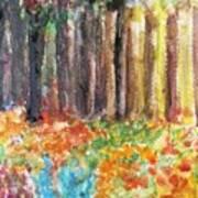 Enchanted Woods Art Print