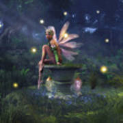 Enchantment - Fairy Dreams Art Print