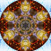 10481 End Of Days 2 Kaleidoscope Art Print