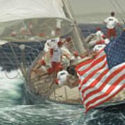Endeavour's Flag Art Print