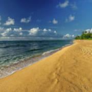 Endless Beach Art Print