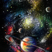 Endless Beauty Of The Universe Art Print