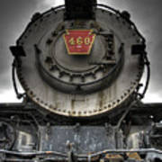 Engine 460 Front And Center Art Print