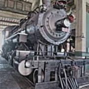 Engine 542 Embossed Art Print