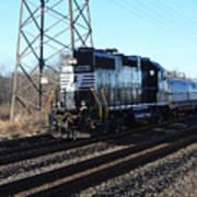 Engine 5664 Passing Bye Art Print
