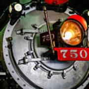 Engine 750 Art Print
