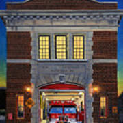 Engine Company 10 Art Print