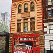 Engine Company 47 Art Print