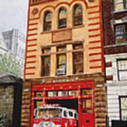 Engine Company 47 Art Print