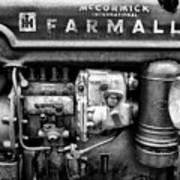 Engine - Farmall Tractor  Art Print