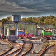 Engine Sheds Quainton Road Buckinghamshire Railway Art Print