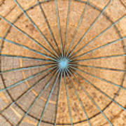 Engineered Wood Dome Art Print