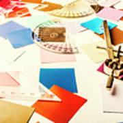Engineering Colour Rules Art Print