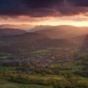England, Cumbria, Lake District National Park Art Print