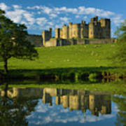 England, Northumberland, Alnwick Castle Art Print