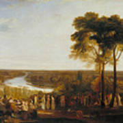 England Richmond Hill On The Prince Regent's Birthday Art Print