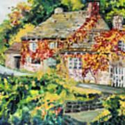 English Autumn Art Print