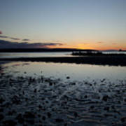 English Bay Sunset Art Print