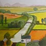 English Canal Art Print