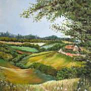 English Countryside Art Print