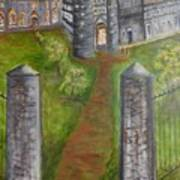 English Manor Art Print