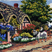 English Tapestry Art Print