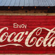 Enjoy Coke Art Print