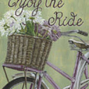 Enjoy The Ride Art Print