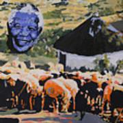 Enkosi Kakhulu Hamba Kahle Tat' Umadiba Art Print