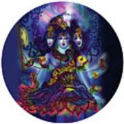 Enlightened Shiva Art Print