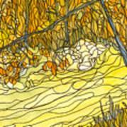 Eno River #25 Art Print